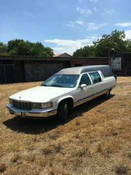 well serviced 1994 Cadillac Federal Landau LT1 Hearse for sale