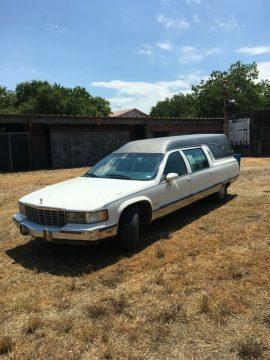 well serviced 1994 Cadillac Federal Landau LT1 Hearse for sale