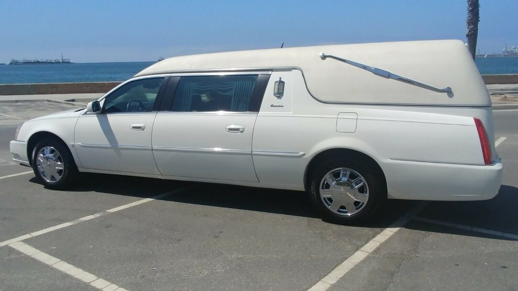 great shape 2006 Cadillac Commercial DTS hearse