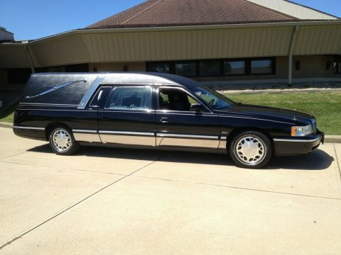 low miles 1998 Cadillac DTS Eagle Hearse for sale