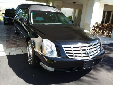 low miles 2010 Cadillac DTS Hearse for sale