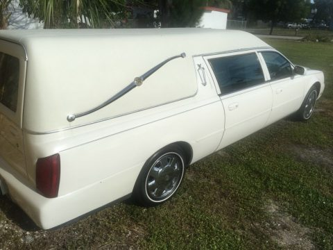 new parts 2001 Cadillac Deville hearse for sale
