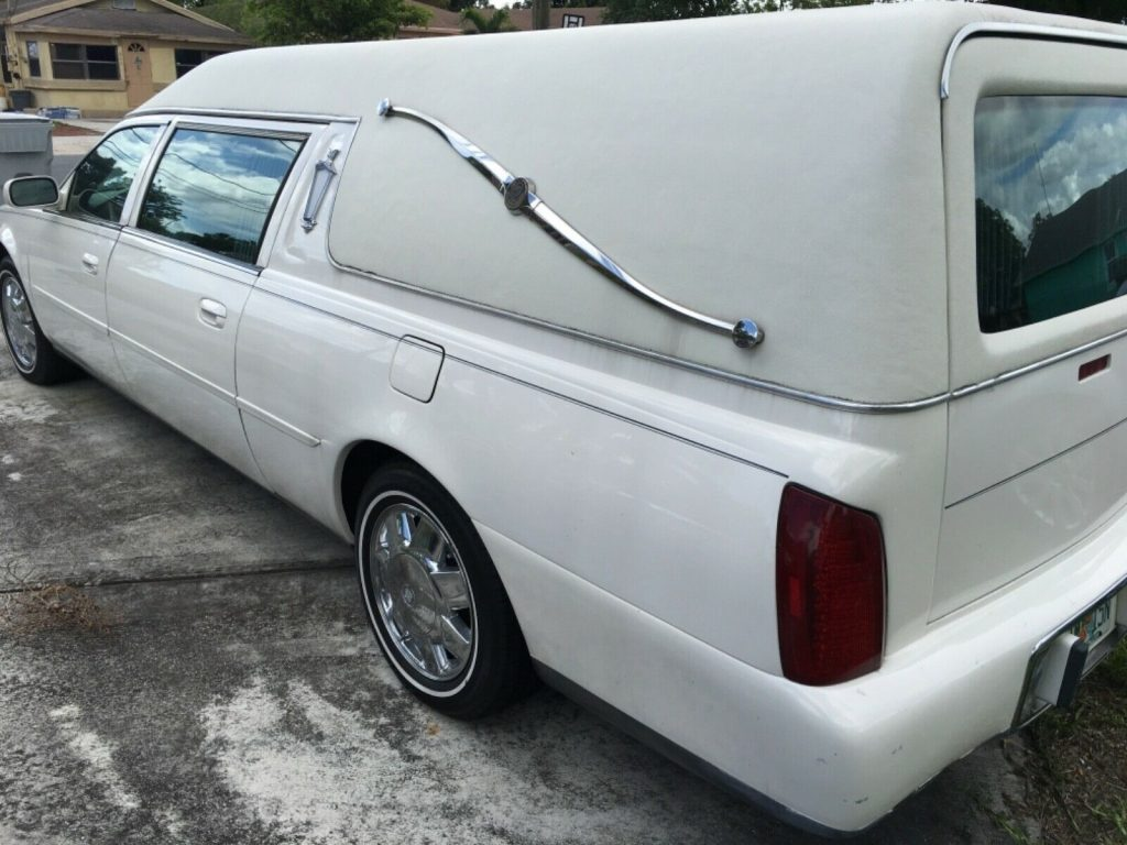 new parts 2001 Cadillac Deville hearse