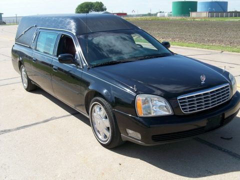 no issues 2004 Cadillac DeVille Hearse for sale