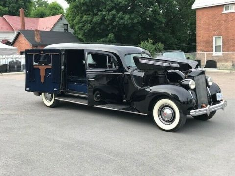 rare 1938 Henney Packard 3 Way Hearse for sale