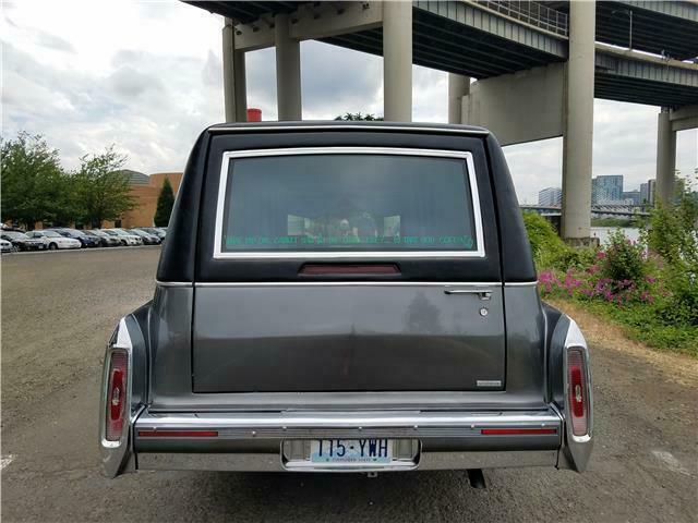rare 1991 Cadillac Brougham hearse