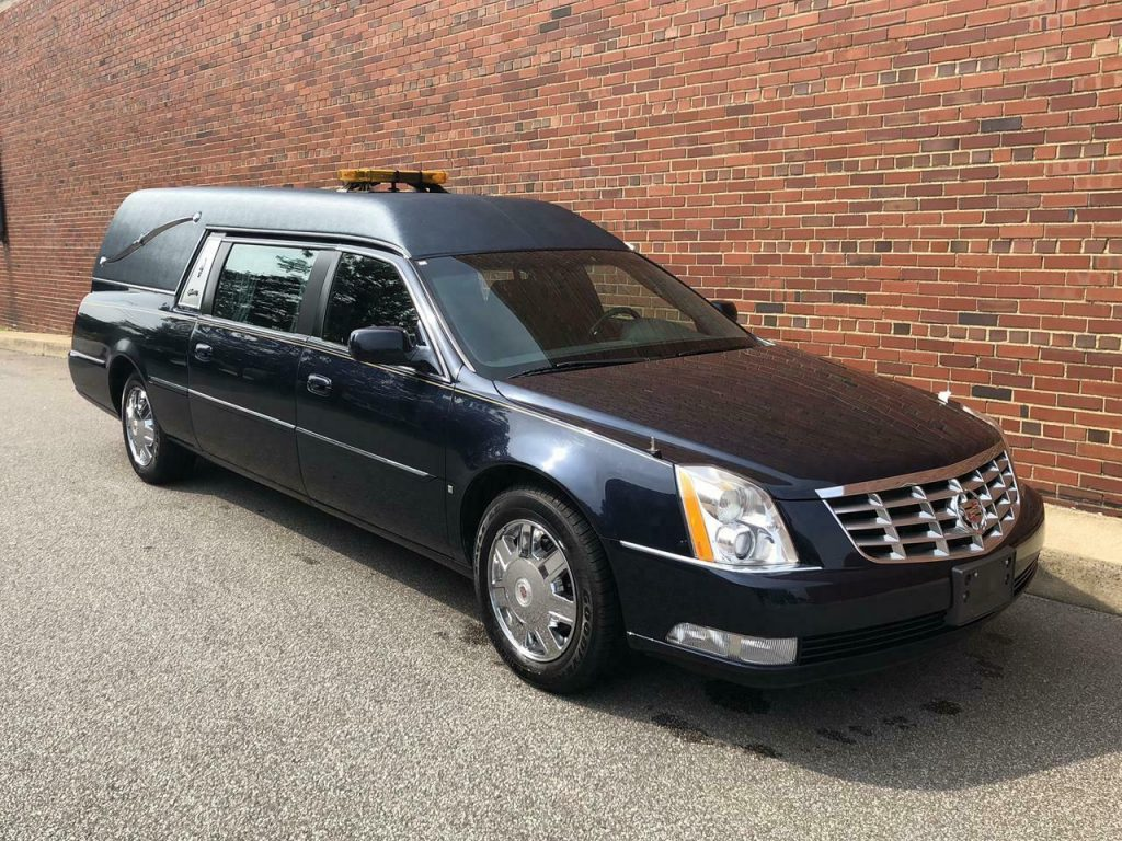serviced 2006 Cadillac S&S hearse