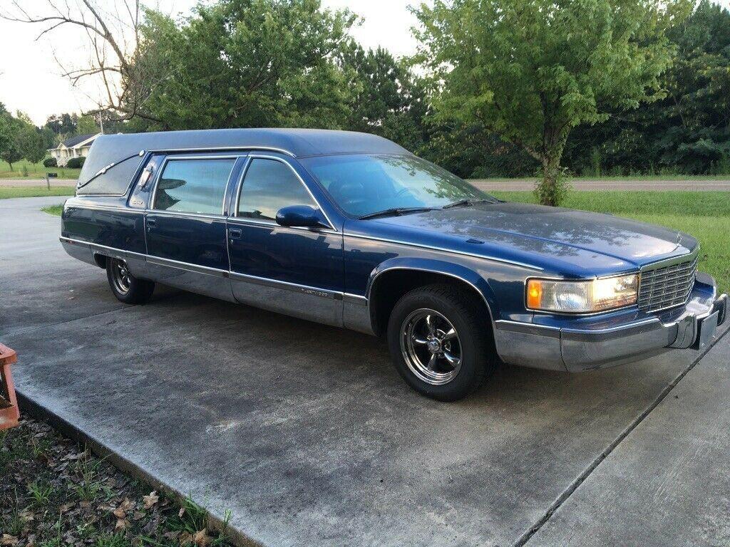 great shape 1995 Cadillac Fleetwood hearse
