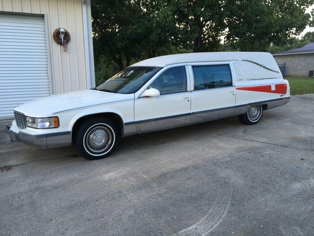 Low Miles 1995 Cadillac Fleetwood hearse