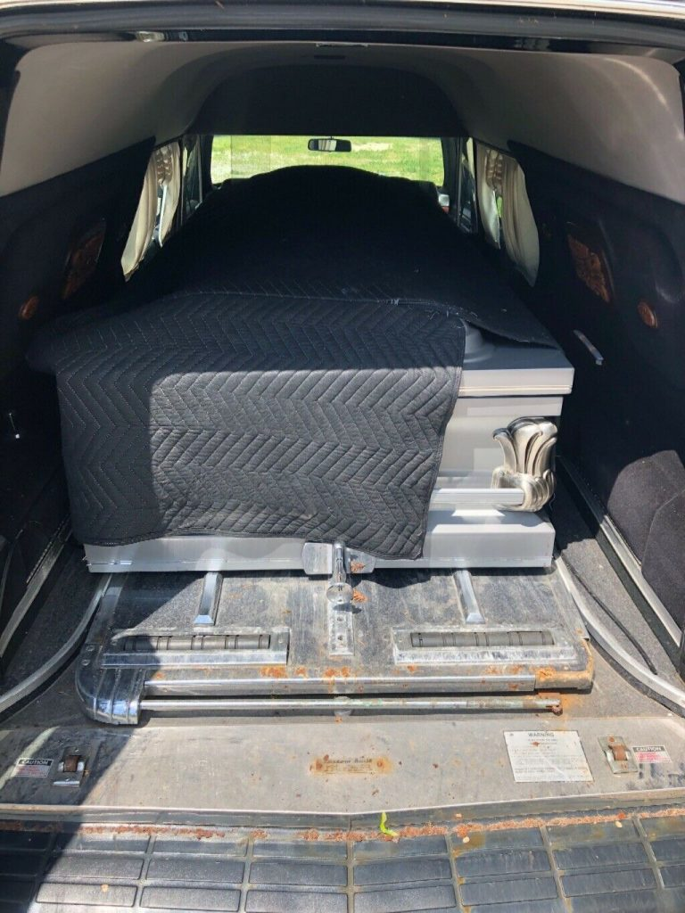 strong running 1997 Cadillac DeVille Hearse