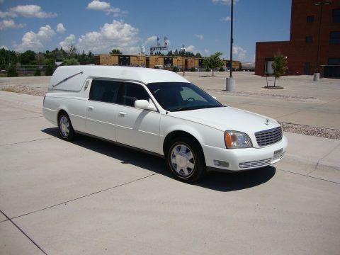 very nice 2000 Cadillac Hearse for sale