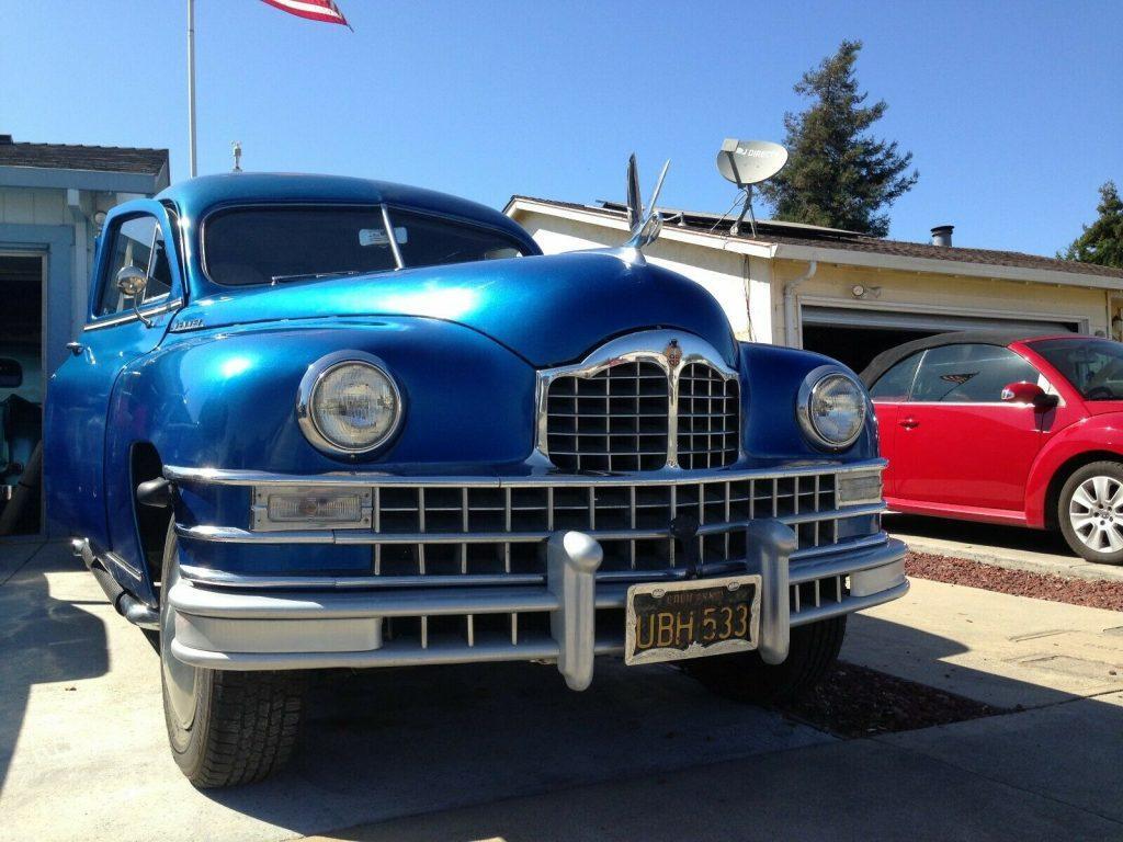custom 1948 Packard Henney Hearse