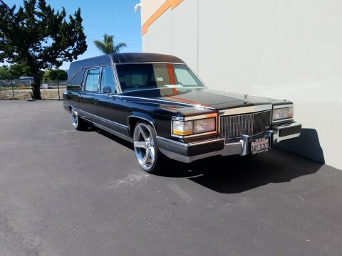 custom 1991 Cadillac Brougham Hearse for sale