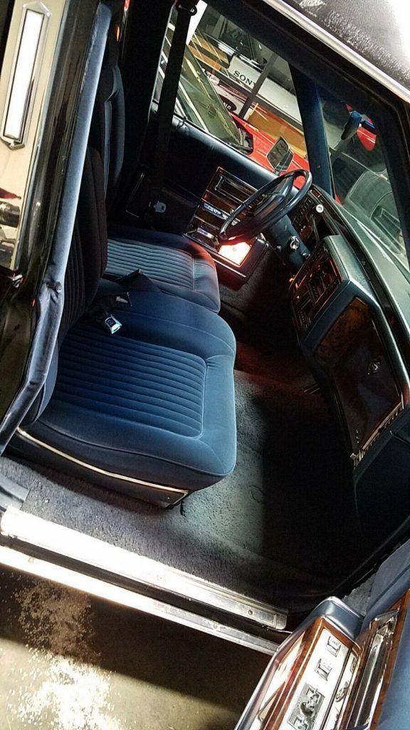 custom 1991 Cadillac Brougham Hearse