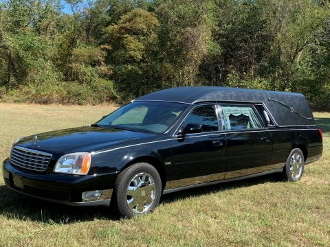 great shape 2001 Cadillac Deville Hearse for sale