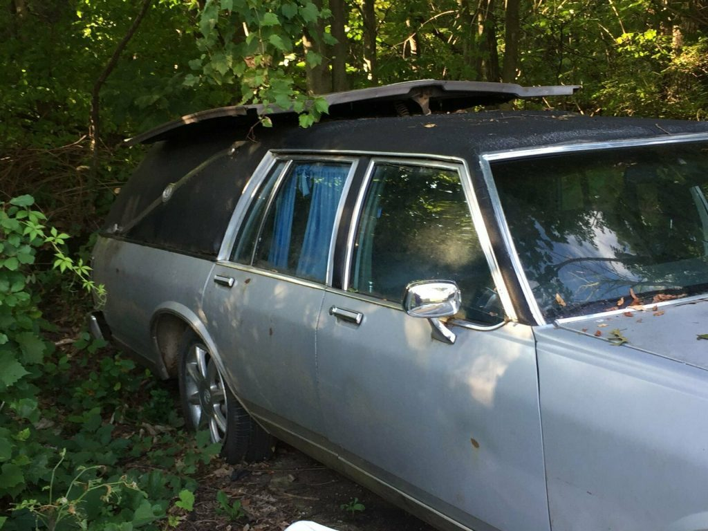 needs TLC 1982 Buick LeSabre Hearse