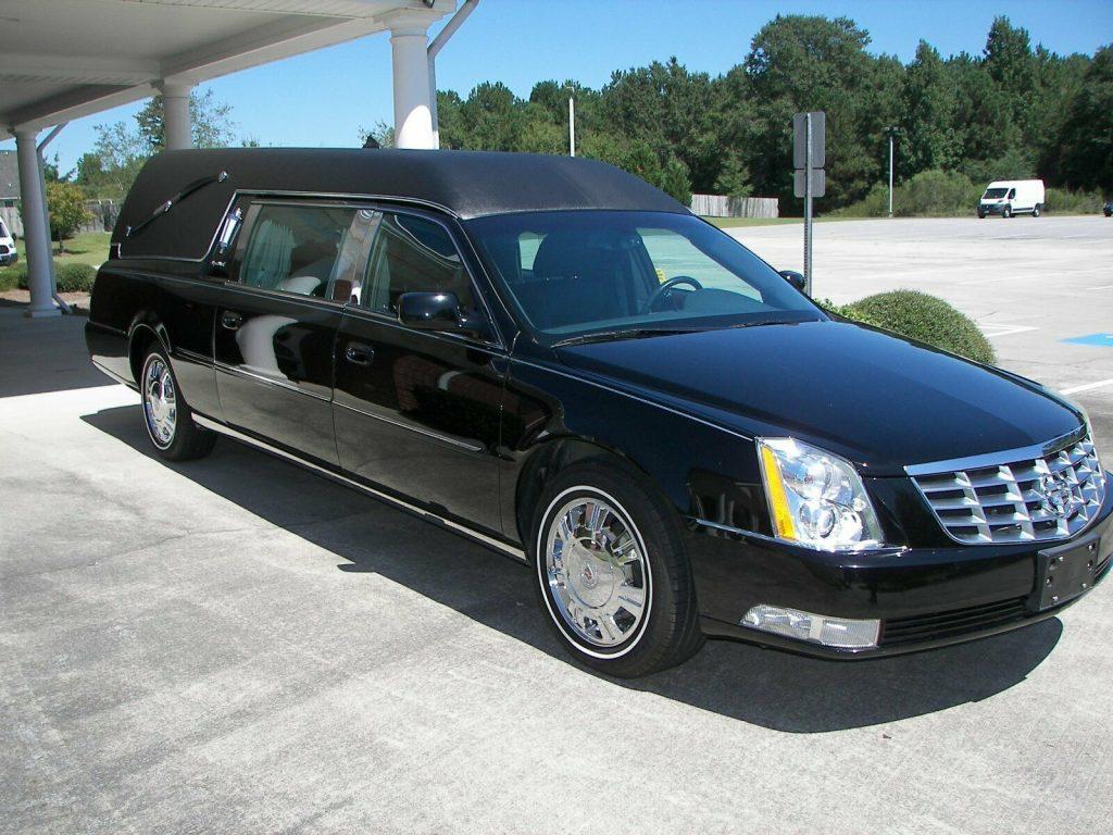 super clean 2011 Cadillac DTS S&S hearse