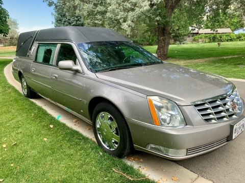 well maintained 2007 Cadillac Federal Limited hearse for sale
