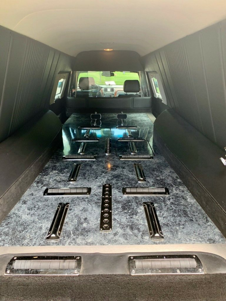 well maintained 2007 Cadillac Federal Limited hearse