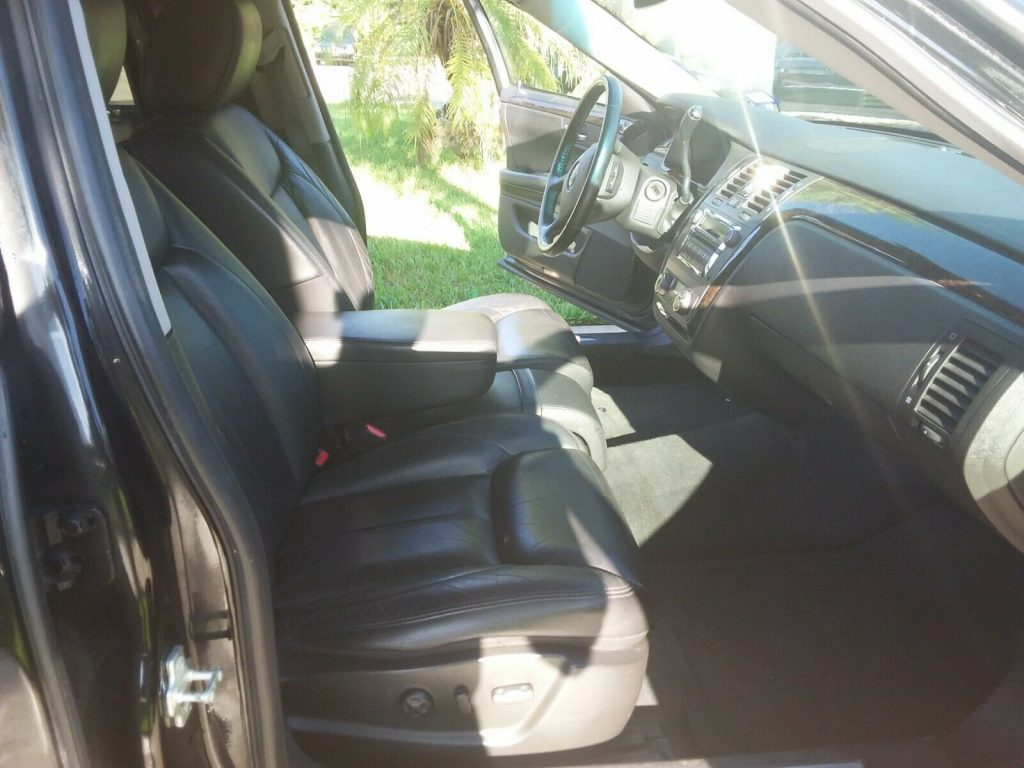 well maintained 2009 Cadillac Superior Statesman DTS HEARSE