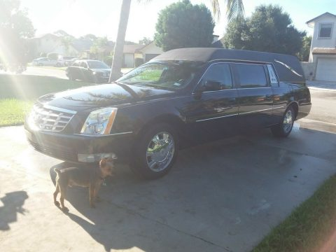 beautiful 2009 Cadillac DTS HEARSE for sale
