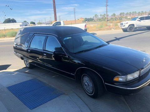 clean 1996 Chevrolet Caprice hearse for sale