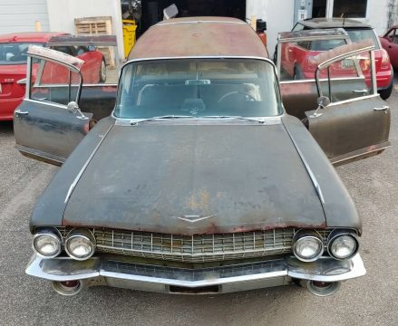 combination 1961 Cadillac Superior Royale Crown hearse for sale