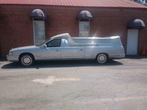 flower car combination 1999 Cadillac Deville Hearse for sale