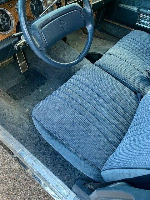garaged 1988 Buick LeSabre Hearse