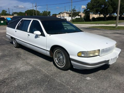 great running 1992 Buick Roadmaster hearse for sale