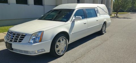 low miles 2007 Cadillac DTS Professional hearse for sale