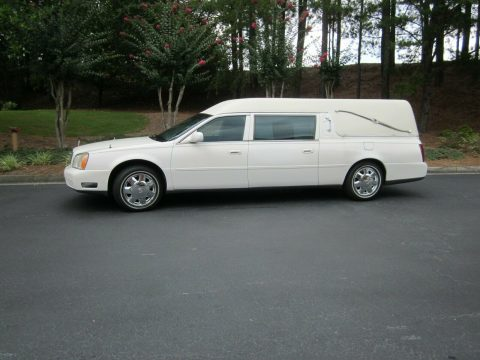needs work 2002 Cadillac Deville Hearse for sale