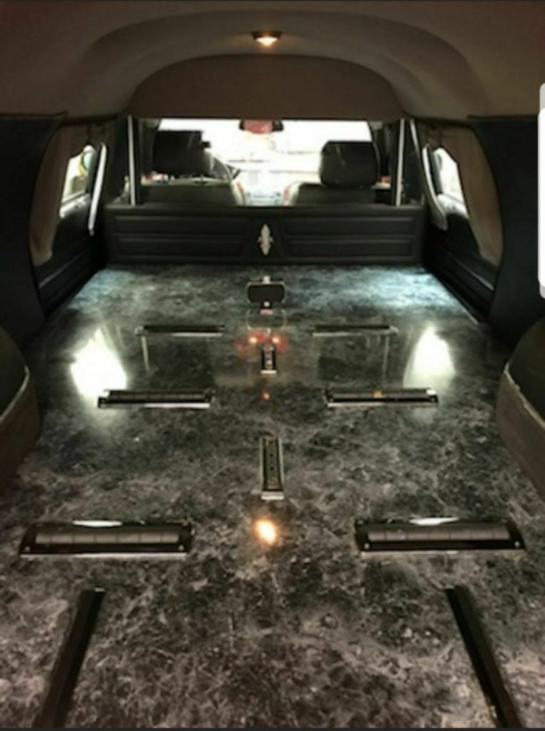ready for work 2007 Cadillac DeVille hearse