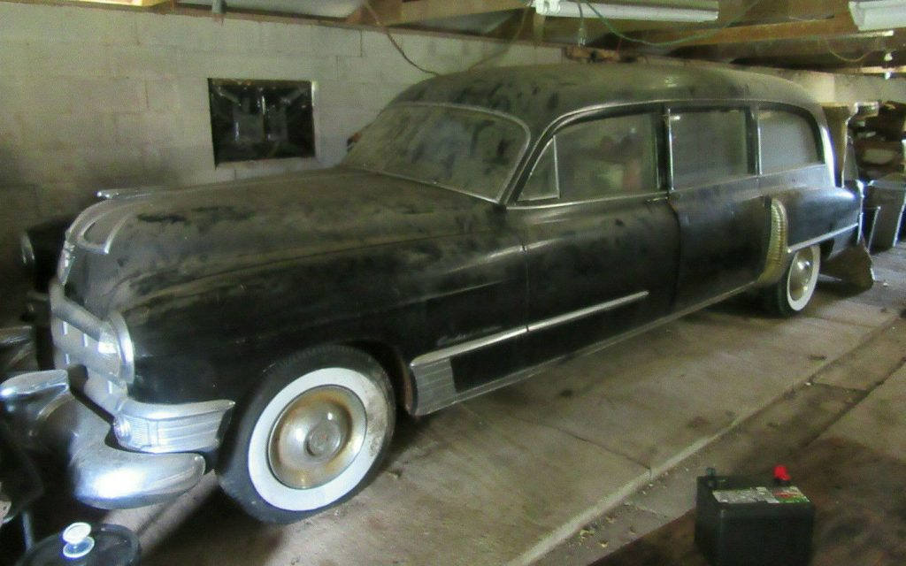 Rear Loader 1949 Cadillac S&S hearse