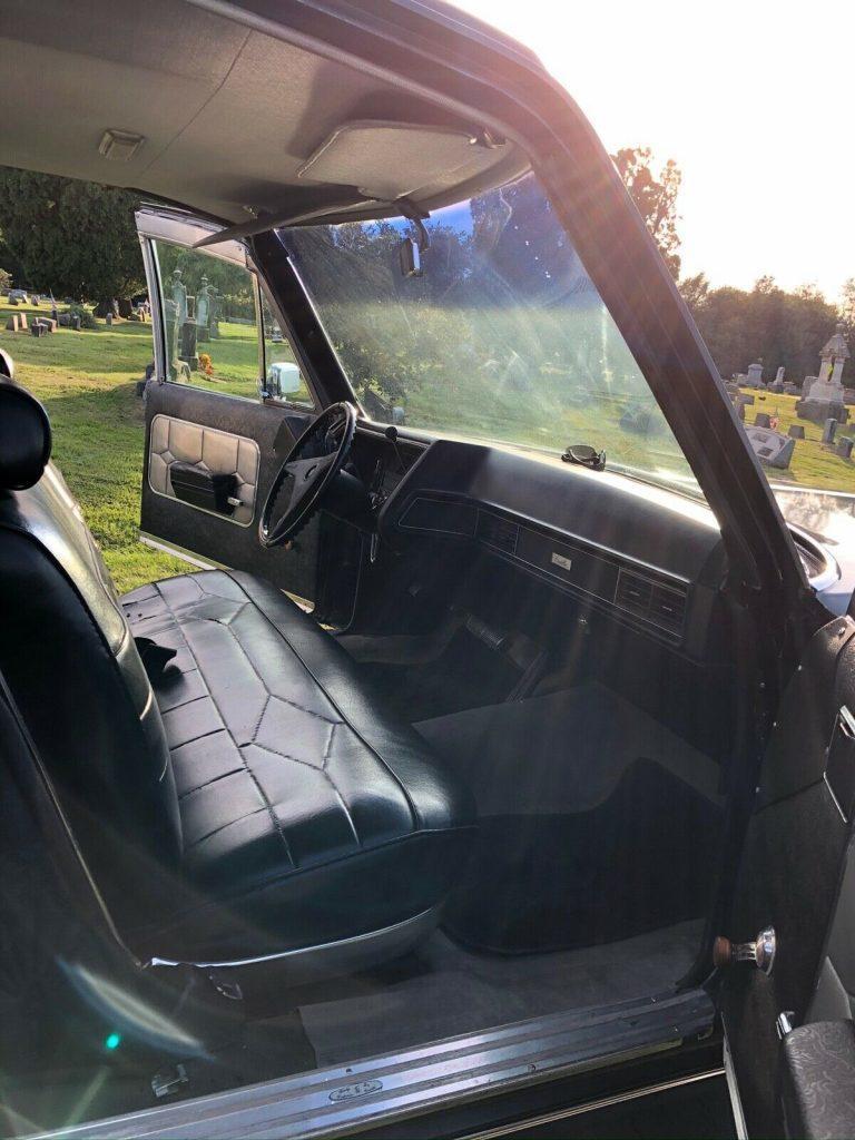 vintage 1970 Cadillac Superior hearse