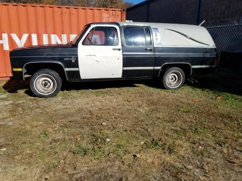 rare 1984 Chevrolet Suburban hearse for sale