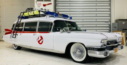 Ecto 1 replica 1959 Cadillac Miller Meteor hearse for sale