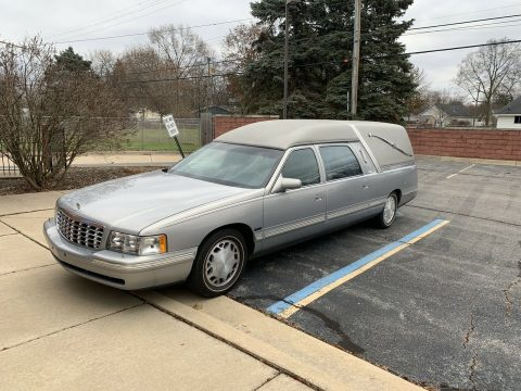 garaged 1999 Cadillac Deville Hearse for sale