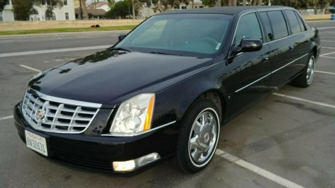 super clean 2008 Cadillac DTS Eureka Hearse for sale