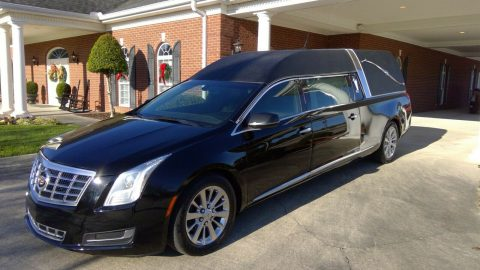 very clean 2014 Cadillac Commercial Chassis Federal hearse for sale