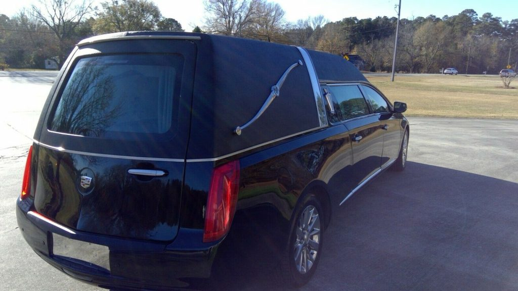 very clean 2014 Cadillac Commercial Chassis Federal hearse
