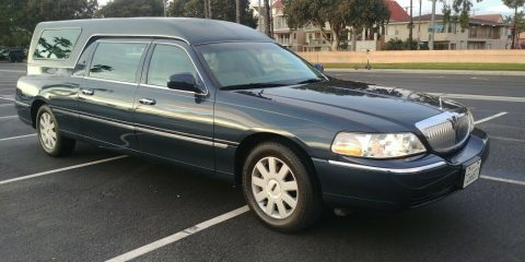 very nice 2006 Lincoln Town Car Krystal Koach hearse for sale