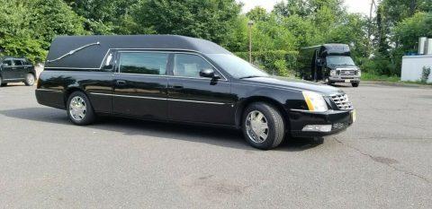 garaged 2006 Cadillac Deville hearse for sale