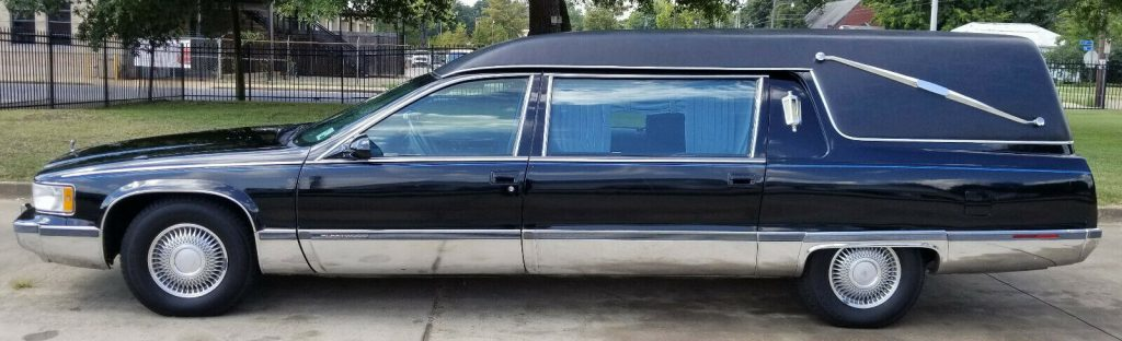 great shape 1995 Cadillac Fleetwood Hearse