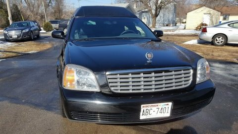 great shape 2000 Cadillac Deville Funeral Coach hearse for sale