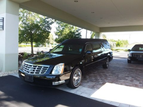 low miles 2008 Cadillac DTS EUREKA hearse for sale