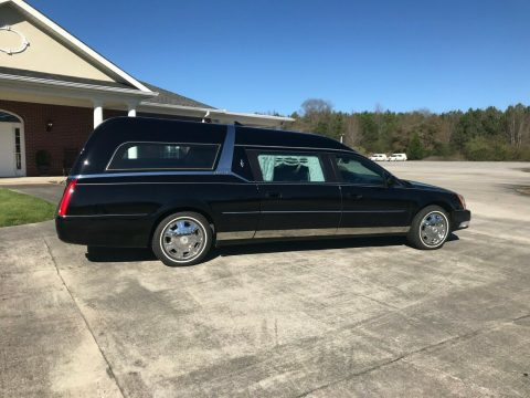 low miles 2010 Cadillac Commercial Chassis hearse for sale