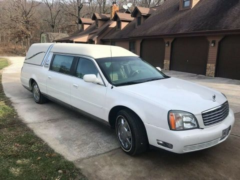 very nice 2002 Cadillac Deville Hearse for sale