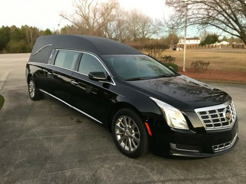exceptionally clean 2013 Cadillac Superior Hearse for sale