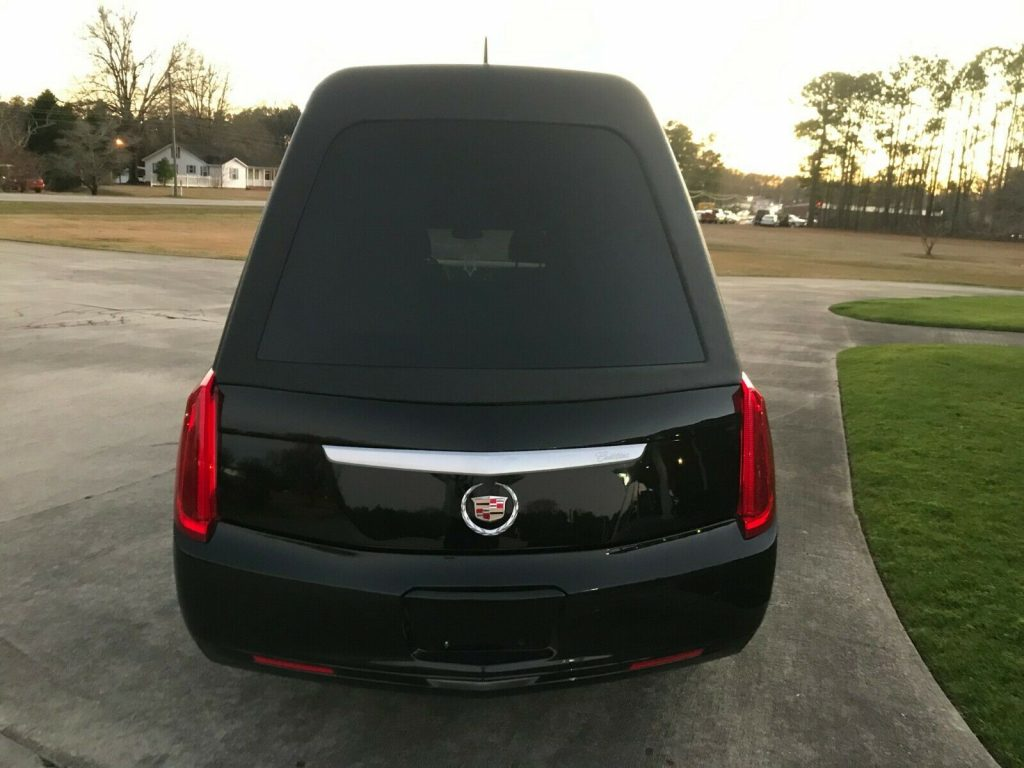 exceptionally clean 2013 Cadillac Superior Hearse